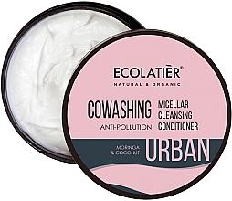 Düfte, Parfümerie und Kosmetik Mizellarer Haarbalsam mit Moringa und Kokosnuss - Ecolatier Urban Micellar Cleansing Conditioner
