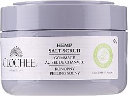 Düfte, Parfümerie und Kosmetik Salzpeeling für den Körper mit Hanfsamenöl - Clochee Hemp Salt Scrub