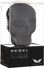 Düfte, Parfümerie und Kosmetik Entwirrbürste schwarz-chrom 10x7 cm - Tangle Angel Rebel Brush Black Chrome