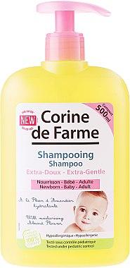 Extra sanftes Shampoo mit Mandelblüten für Babys und Kinder - Corine de Farme Baby