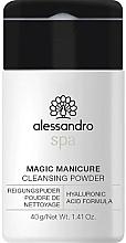 Düfte, Parfümerie und Kosmetik Reinigungspulver für die Hände - Alessandro International Spa Magic Manicure Cleansing Powder