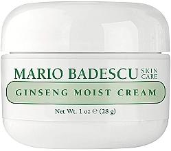 Düfte, Parfümerie und Kosmetik Feuchtigkeitsspendende Gesichtscreme mit Ginseng-Extrakt - Mario Badescu Ginseng Moist Cream