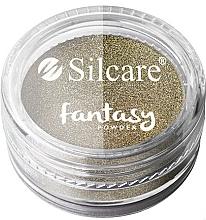 Düfte, Parfümerie und Kosmetik Nageldesign-Puder Chrom - Silcare Fantasy Chrome Powder
