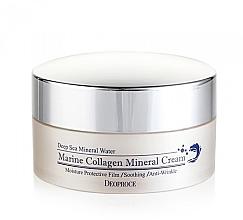 Düfte, Parfümerie und Kosmetik Beruhigende Anti-Falten Gesichtscreme mit marinem Kollagen - Marine Collagen Mineral Cream, Deoproce