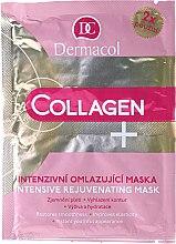 Düfte, Parfümerie und Kosmetik Intensive Anti-Aging-Gesichtsmaske - Dermacol Collagen+ Intensive Rejuvenating Mask