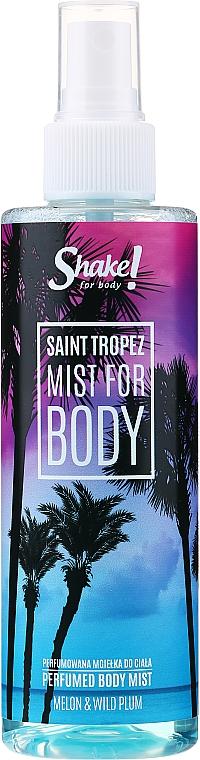 Shake for Body Perfumed Body Mist Saint Tropez Melon & Wild Plum - Parfümierter Körpernebel Melone & Wilde Pflaume