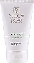 Düfte, Parfümerie und Kosmetik Feuchtigkeitsspendendes und beruhigendes Körper- und Gesichtsgel mit Aloe Vera - Yellow Rose Aloe Vera Gel