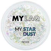 Düfte, Parfümerie und Kosmetik Nagelglitzer - MylaQ My Star Dust
