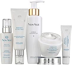 Düfte, Parfümerie und Kosmetik Gesichtspflegeset - Oriflame NovAge Bright Sublime (Gel 150ml + Augencreme 15ml + Serum 30ml+Tagescreme 50ml + Nachtcreme 50ml)