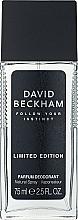 Düfte, Parfümerie und Kosmetik David Beckham Follow Your Instinct - Parfümiertes Körperspray