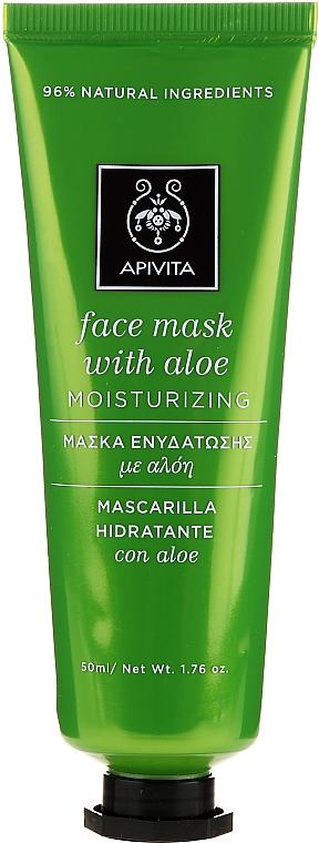 Feuchtigkeitsspendende Gesichtsmaske mit Aloe Vera - Apivita Moisturizing Mask