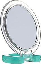 Düfte, Parfümerie und Kosmetik Kosmetikspiegel mit Ständer 5053 grün - Top Choice