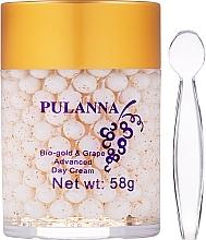 Düfte, Parfümerie und Kosmetik Tagescreme für das Gesicht mit Traube - Pulanna Bio-Gold & Grape Advanced Day Cream