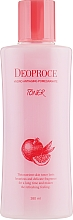 Düfte, Parfümerie und Kosmetik Feuchtigkeitsspendendes Anti-Aging Gesichtstonikum mit Granatapfelextrakt und Hyaluronsäure für alle Hauttypen - Deoproce Hydro Antiaging Pomegranate Toner