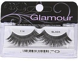 Düfte, Parfümerie und Kosmetik Künstliche Wimpern - Ardell Glamour Lash 114 Black