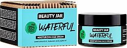 Düfte, Parfümerie und Kosmetik Feuchtigkeitsspendende Gesichtscreme mit Hyaluronsäure, Mandel- und Jojobaöl - Beauty Jar Waterful Moisturizing Face Cream