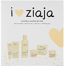 Düfte, Parfümerie und Kosmetik Gesichtspflegeset - Ziaja I Love Ziaja Remodeling (Mizellenlotion für reife Haut 200ml + Gesichtsgel gegen Falten 30ml + Tagescreme 50ml + Nachtcreme 50ml)