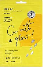Düfte, Parfümerie und Kosmetik Regenerierende Gesichtsmaske mit Hyaluronsäure und Vitamin C - Kili-g Revitalizing Face Mask