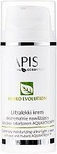 Düfte, Parfümerie und Kosmetik Feuchtigkeitsspendende Gesichtscreme mit Birne und Rhabarber - APIS Professional Hydro Evolution Extremely Moisturizing Ultra-Light Cream
