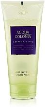 Düfte, Parfümerie und Kosmetik Entspannendes Duschgel Safran & Iris - Maurer & Wirtz 4711 Acqua Colonia Saffron & Iris