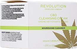 Düfte, Parfümerie und Kosmetik Gesichtsreinigungscreme mit Cannabissamenöl - Revolution Skincare CBD Cleansing Cream