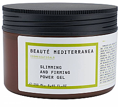 Düfte, Parfümerie und Kosmetik Anti-Cellulite straffendes Körpergel - Beaute Mediterranea Slimming And Firming Power Gel
