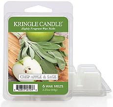 Düfte, Parfümerie und Kosmetik Tart-Duftwachs Apple & Sage - Kringle Candle Wax Crisp Apple & Sage