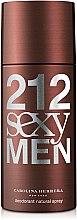 Düfte, Parfümerie und Kosmetik Carolina Herrera 212 Sexy Men - Deospray