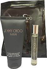 Düfte, Parfümerie und Kosmetik Jimmy Choo Man - Duftset (Eau de Toilette Mini 7.5ml + After Shave Balsam 50ml)