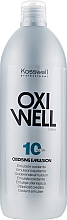 Düfte, Parfümerie und Kosmetik Entwicklerlotion 3% - Kosswell Professional Oxidizing Emulsion Oxiwell 3% 10vol