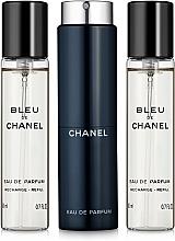 Düfte, Parfümerie und Kosmetik Chanel Bleu de Chanel Eau de Parfum - Eau de Parfum /3x20ml/