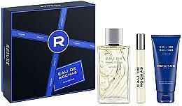 Düfte, Parfümerie und Kosmetik Rochas Eau de Rochas Homme - Duftset (Eau de Toilette 100ml + Duschgel 100ml + Eau de Toilette 20ml)
