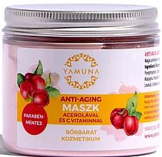Düfte, Parfümerie und Kosmetik Anti-Aging Gesichtsmaske mit Acerola ud Vitamin C - Yamuna Anti-aging Mask With Acerola And C-vitamin