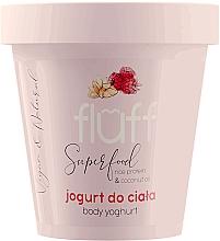 Düfte, Parfümerie und Kosmetik Körperjoghurt mit Mandel- und Himbeerduft - Fluff Body Yogurt Raspberries and Almonds