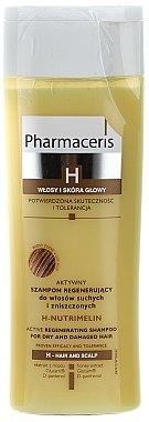 Regenerierendes Shampoo für trockenes und geschädigtes Haar - Pharmaceris H-Nutrimelin Active Regenerating Shampoo