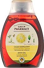 Düfte, Parfümerie und Kosmetik Badeöl mit Nelke und Zitrone - Green Pharmacy