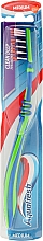 Düfte, Parfümerie und Kosmetik Zahnbürste mittel Clean Deep dunkelblau-grün - Aquafresh Clean Deep Medium
