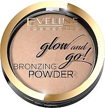 Düfte, Parfümerie und Kosmetik Bronze-Puder - Eveline Cosmetics Glow & Go Bronzing Powder