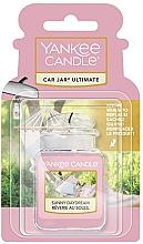 Düfte, Parfümerie und Kosmetik Auto-Lufterfrischer mit süßen Düften von exotischem Ylang-Ylang, Bergamotte und Jasmin - Yankee Candle Car Jar Ultimate Sunny Daydream