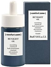 Düfte, Parfümerie und Kosmetik Regenerierendes und nährendes Gesichtsöl für die Nacht mit Goji Beeren, Vitamin E und Macadamiaöl - Comfort Zone Renight Nourishing Vitamin Oil