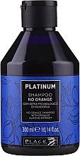Düfte, Parfümerie und Kosmetik Anti-Orangestich Shampoo mit Bio Mandelextrakt - Black Professional Line Platinum No Orange Shampoo With Organic Almond Extract