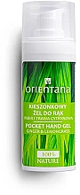 Düfte, Parfümerie und Kosmetik Antibakterielles Handgel mit Ingwer und Zitronengras - Orientana Pocket Hand Gel