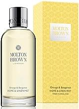 Düfte, Parfümerie und Kosmetik Molton Brown Orange & Bergamot Mist - Raumduft-Spray mit Orangenöl, Bergamotte und Neroli