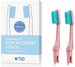 Düfte, Parfümerie und Kosmetik Austauschbare Zahnbürstenköpfe weich rosa 2 St. - TIO Toothbrush Soft