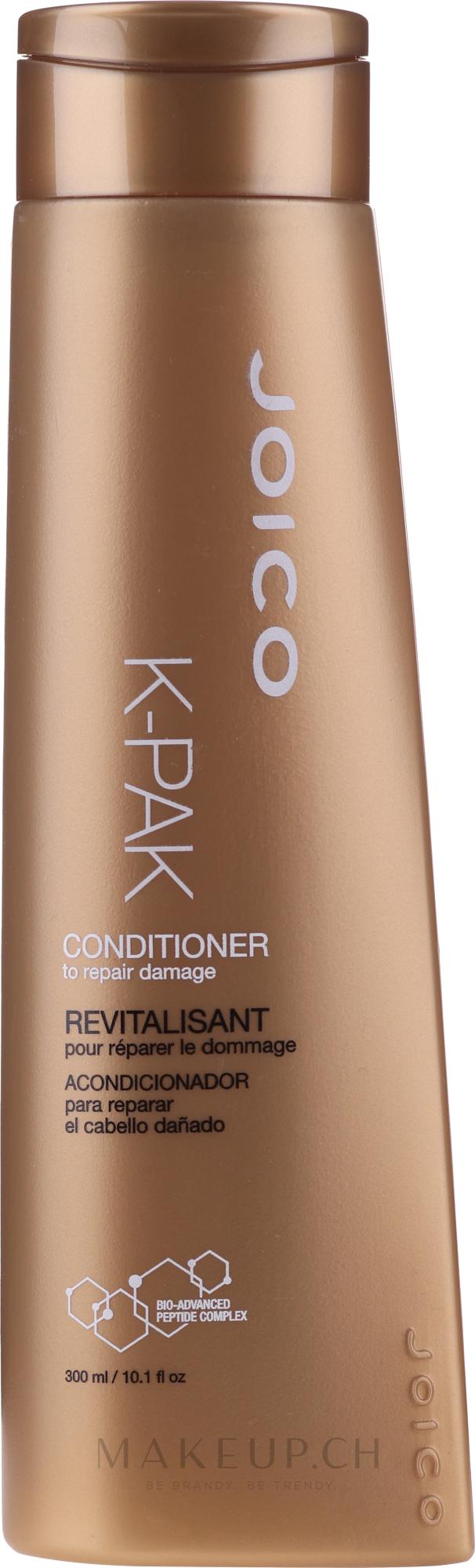 Regenerierender Conditioner für geschädigtes Haar - Joico K-Pak Reconstruct Conditioner — Bild 300 ml
