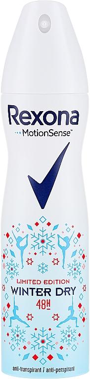 Deospray Antitranspirant - Rexona Deospray Winter Dry Limited Edition