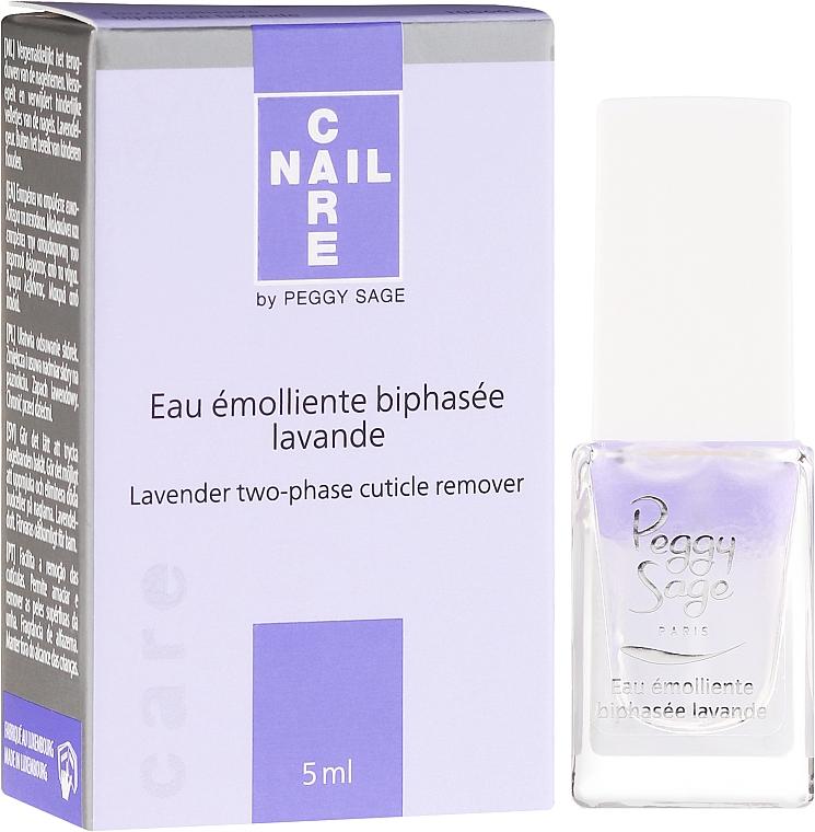 Zweiphasiger Lavendel-Nagelhautentferner - Peggy Sage Lavender Two-Phase Cuticle Remover