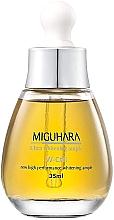 Düfte, Parfümerie und Kosmetik Aufhellende Gesichtsampulle mit Kamillenblütenextrakt, Niacinamide und Allantoin - Miguhara Ultra Whitening Ampoule