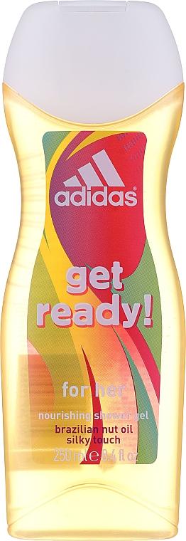 Adidas Get Ready! For Her - Körperpflegeset (Parfümiertes Körperspray 75ml + Duschgel 250ml) — Bild N2
