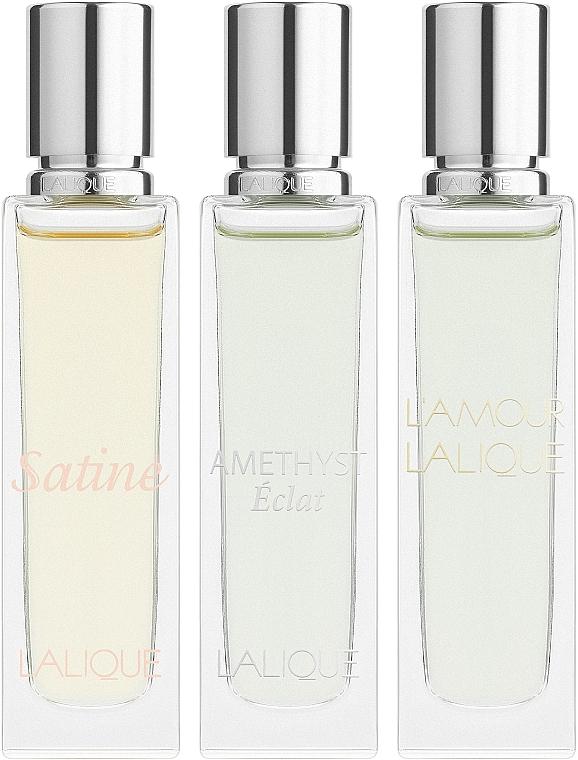 Lalique Les Romatiques - Duftset (Eau de Parfum 3x15ml)